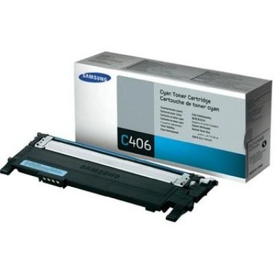 Samsung CLT-C406S Mavi Orjinal Toner