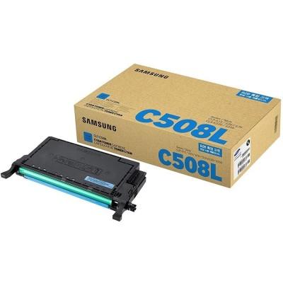 Samsung CLT-C508L Mavi Orjinal Toner