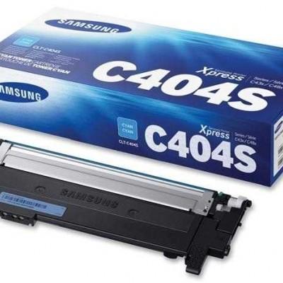 Samsung CLT-C404S Mavi Orjinal Toner
