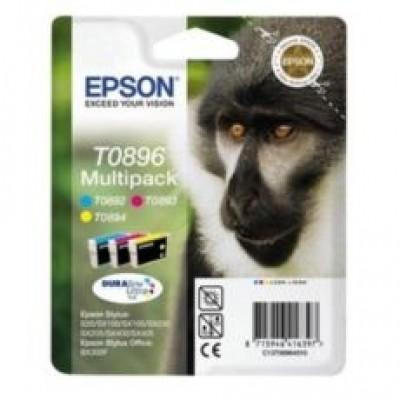 Epson T0896 Multipack Orijinal 3'Lü Mürekkep Kartuş 10.5ML C13T08964011