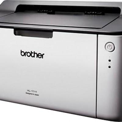 Brother LaserJet HL-1111 Mono Lazer Yazıcı + 3 adet Orjinal Tonerli