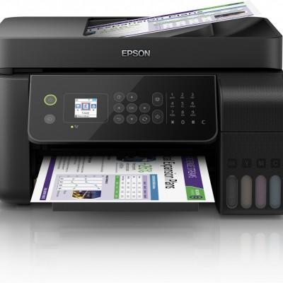 Epson EcoTank L5190 Tarayıcı + Fotokopi + Faks + Wi-Fi Direct + AirPrint Mürekkep Tanklı Yazıcı