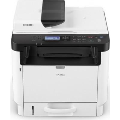 Ricoh SP330SFN Laser yazıcı Tarayıcı Fotokopi Fax Dubleks Network